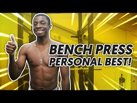 TBJZL BENCH PRESS PERSONAL BEST! (SUBSCRIBERS TRAIN WITH US)
