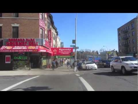 Street Scenes of the Bronx, NYC - Bedford Park and Webster Avenue