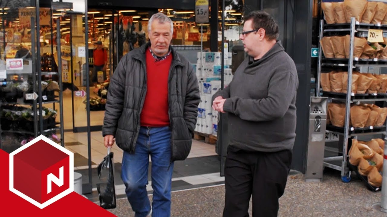 Knut Og Morten Besøker Fredrikshavn Danskebåten
