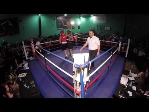 Ultra White Collar Boxing Chichester | Jeremy Straw VS Geoff Huskinson