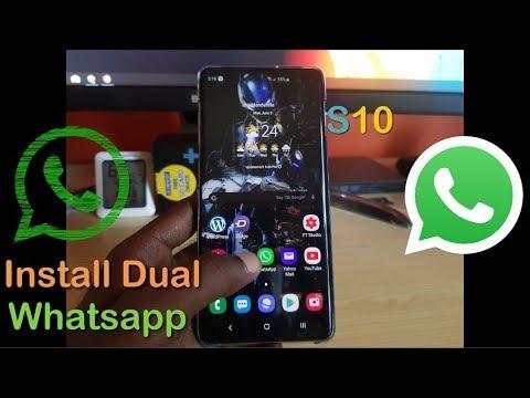 install-dual-whatsapp-messenger-galaxy-s10,s10-plus