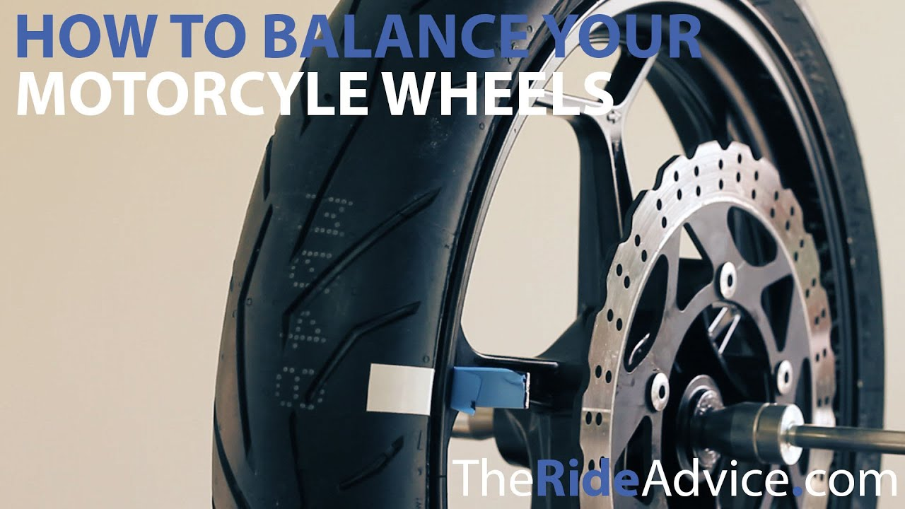 How To Balance Your Motorcycle Wheels Youtube