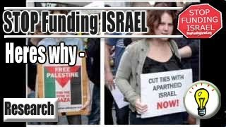 Why we should Stop Funding Israhell [2013]