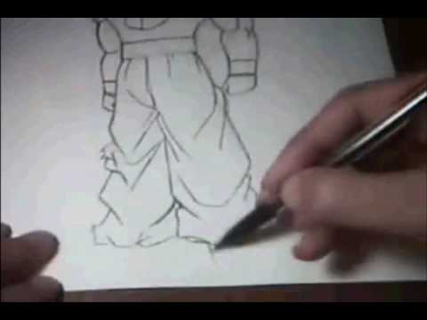 Drwing them viet ve sach Drawing goku nomiee84