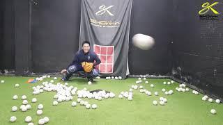 쇼케이 스포츠 베이스볼 포수 하체트레이닝 연습