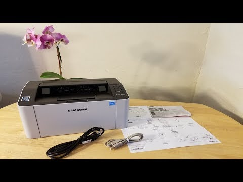 Unboxing Samsung M2020W Laser Jet Printer