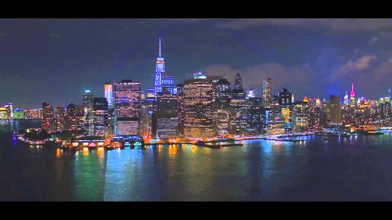 New York City At Night Youtube
