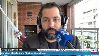 Luiz Megale sobre depoimento na CPI: 'Essa gente não se cria em governos que respeitam a República'