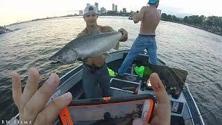Fishing Lake Michigan August 2016