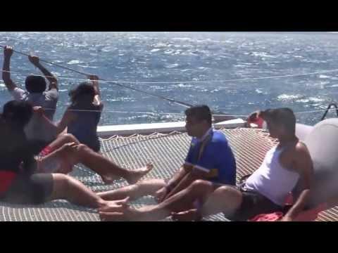Sailing in Mediterranean sea - La Grande Motte