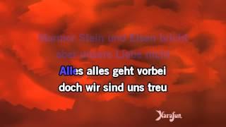 Karaoke Marmor, Stein Und Eisen Bricht - Drafi Deutscher *