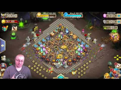 Castle Clash Dallas Legend Events and 300K Might Hero Altar Review