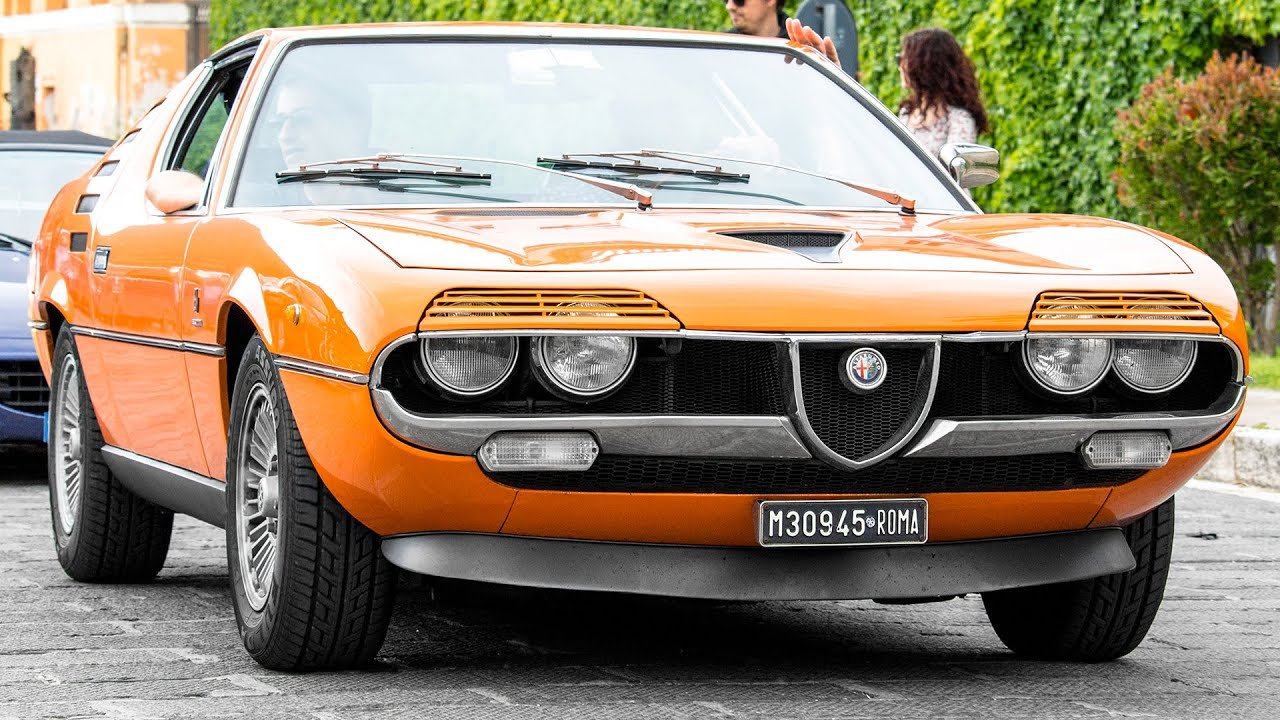alfa romeo montreal review 2015 hq youtube. Black Bedroom Furniture Sets. Home Design Ideas