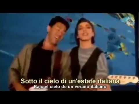 Edoardo Bennato Gianna Nannini - Un Estate Italiana -Subtitulado Inglés Español