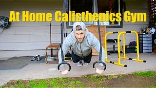 At Home Calisthenics Gym