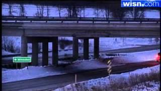 Dump Truck Gets Stuck Under Overpass
