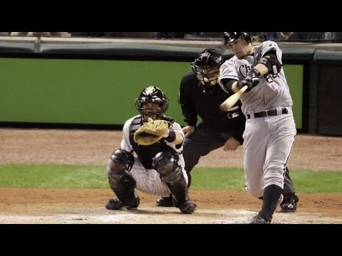 2005 WS Gm3: Crede homer puts White Sox on board