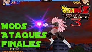 Mods Ataques Definitivos / Dragon Ball Z Budokai Tenkaichi 3 Ps2 Versión Latino