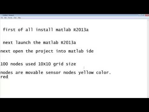 Matlab Simulation for Wireless Sensor Network Projects - YouTube