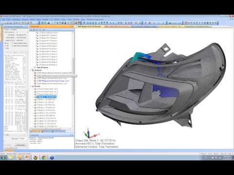 Vibration and Normal Modes Analysis for Engineers - Femap and NX Nastran Technical Seminar