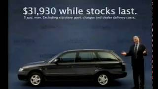 Mazda Commercial (1998) - featuring Max Walker