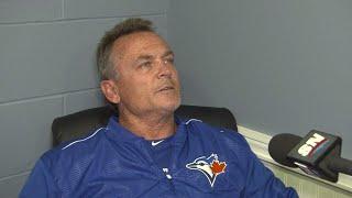 Gibbons: Sanchez developed a little blister...hopefully we got it in time
