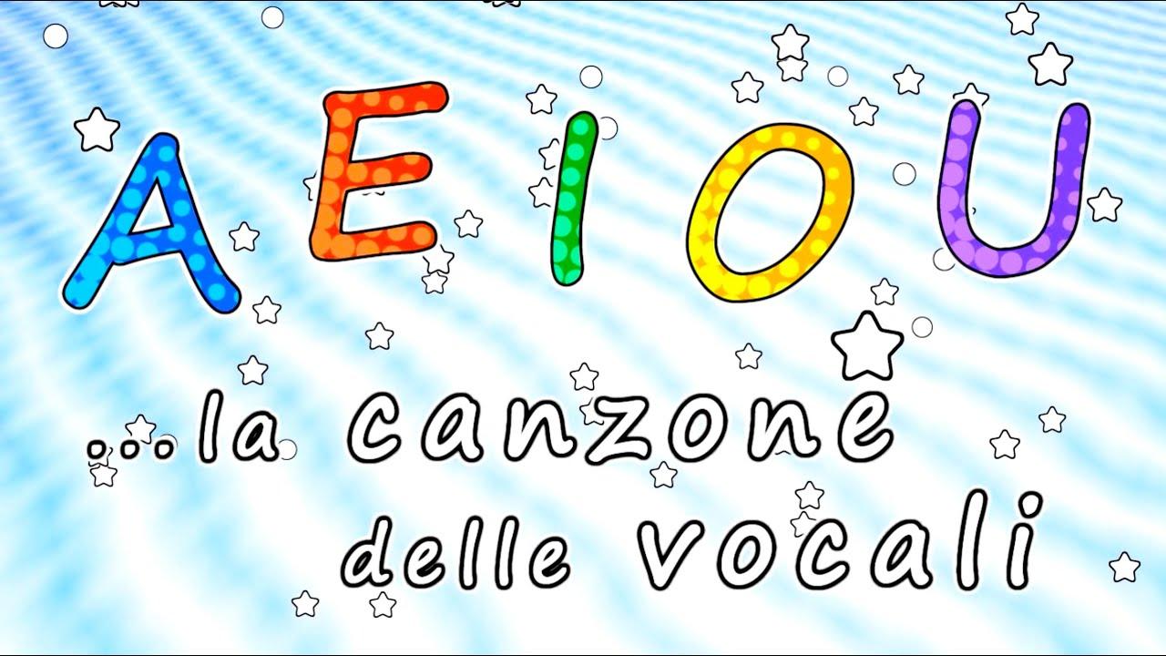 Favoloso AEIOU - La canzone delle vocali AEIOU - Canzoni per bambini - Baby  PZ16