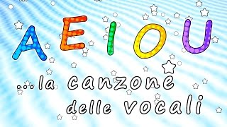 AEIOU - La canzone delle vocali AEIOU - Canzoni per bambini - Baby cartoons - Baby music songs