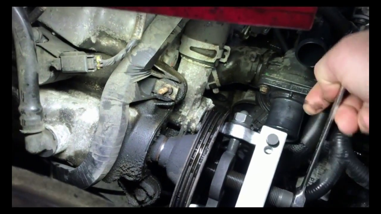 Ford Escape And Ford Fusion 3 0l Water Pump Replacement