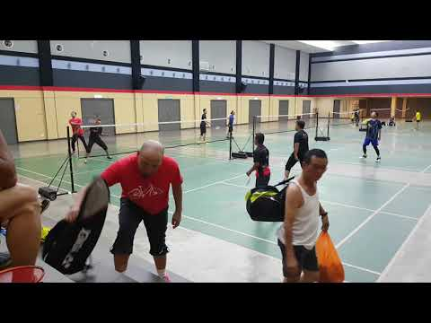 Badminton SUBC Kamal&Saleh Vs Saleem&Antoo