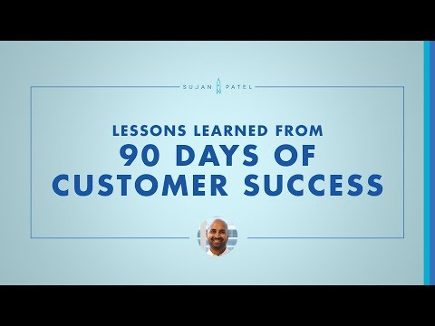 Lessons Learned From 90 Days of Customer Success