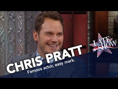 Thumbnail: Chris Pratt Will Buy Anything You Try to Sell Him