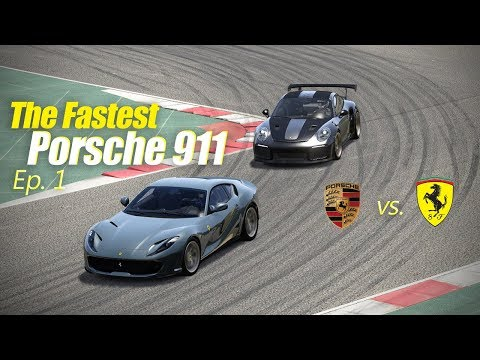 The Fastest Porsche 911 vs 812 Superfast - Assetto Corsa