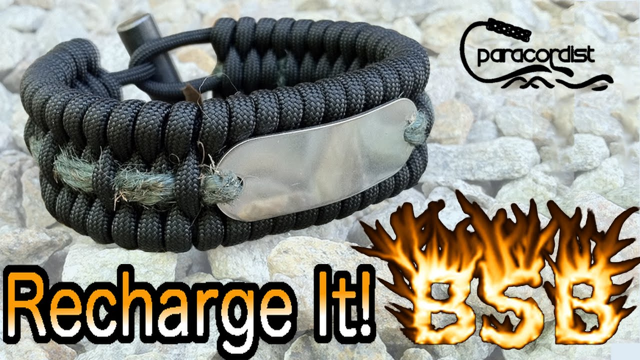 Bsb Fire Bracelet Recharge Not How To Make Paracord Cobra Weave Or Solomon Bar You