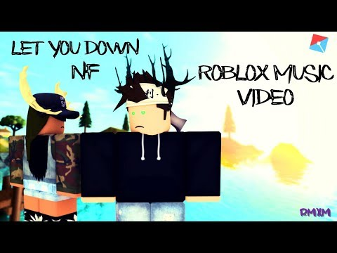 Let You Down✩NF✩Roblox Music Video✩Behind The Twisted