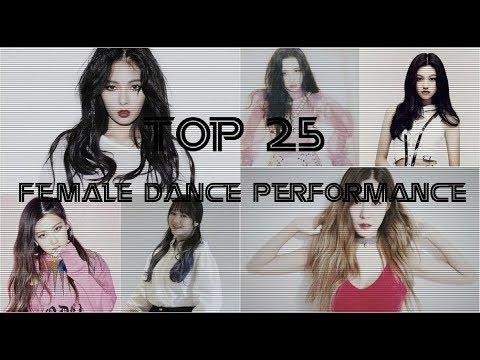 Top 25 K-Pop Female Dance Performances (2017)