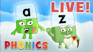 🔴 Alphablocks   LIVE Episodes   Learn to Read