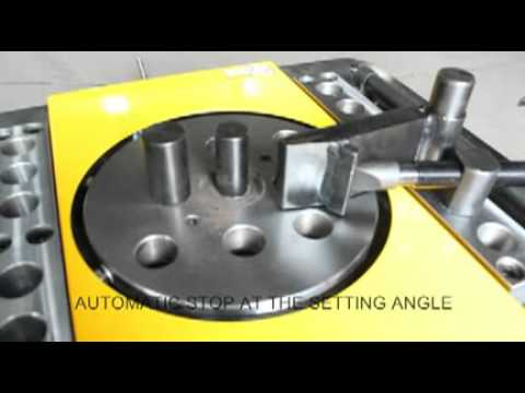steel bar bender GW40A(operation)