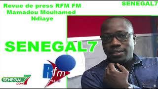 Revue de presse Rfm du Samedi 28 Septembre par Mouhamed Alimou Bâ