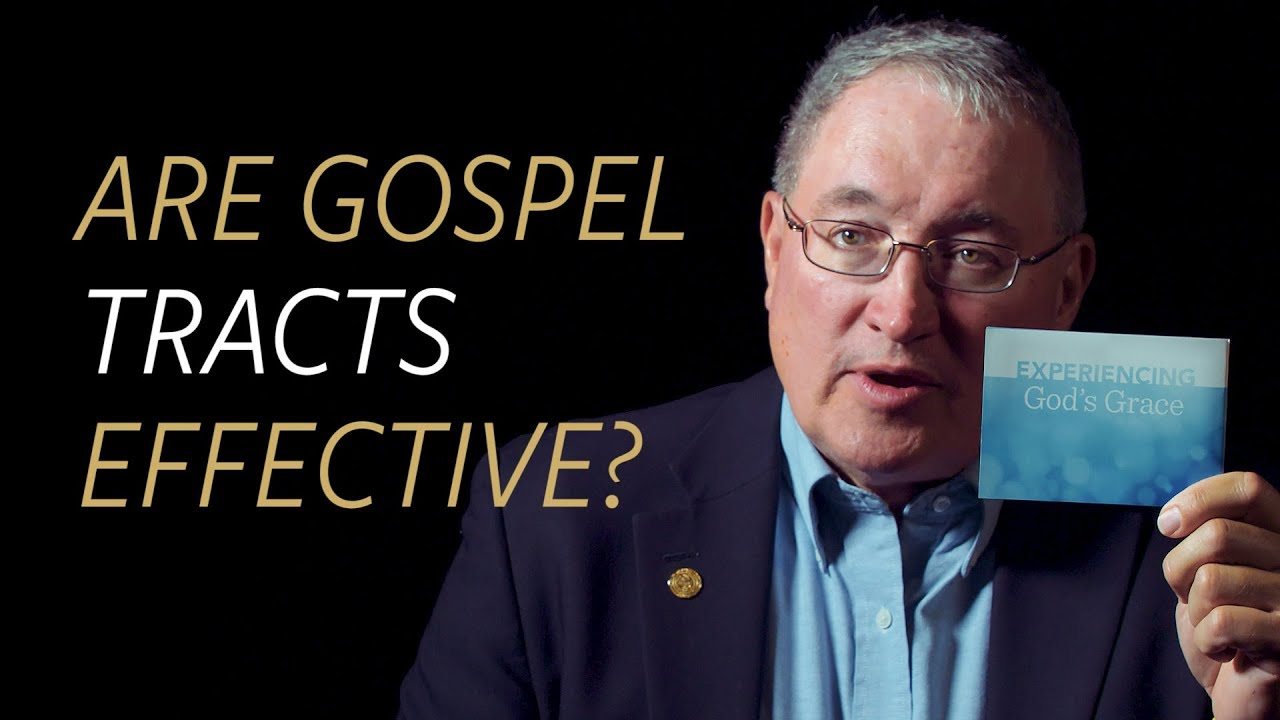 Are gospel tracts effective?