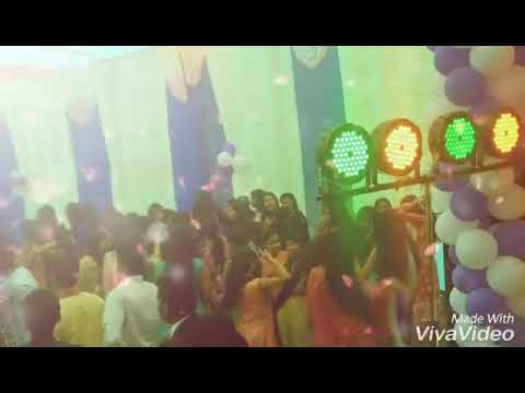 Gaya college of engineering dance in sarswati puja in campus