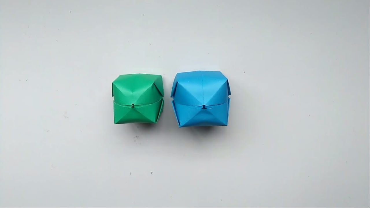 Origami Water Bomb || How To Make A Paper Water Balloon ... - photo#6