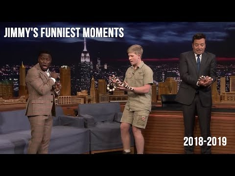 Jimmy Fallon Funniest Moments 2019 #compilation