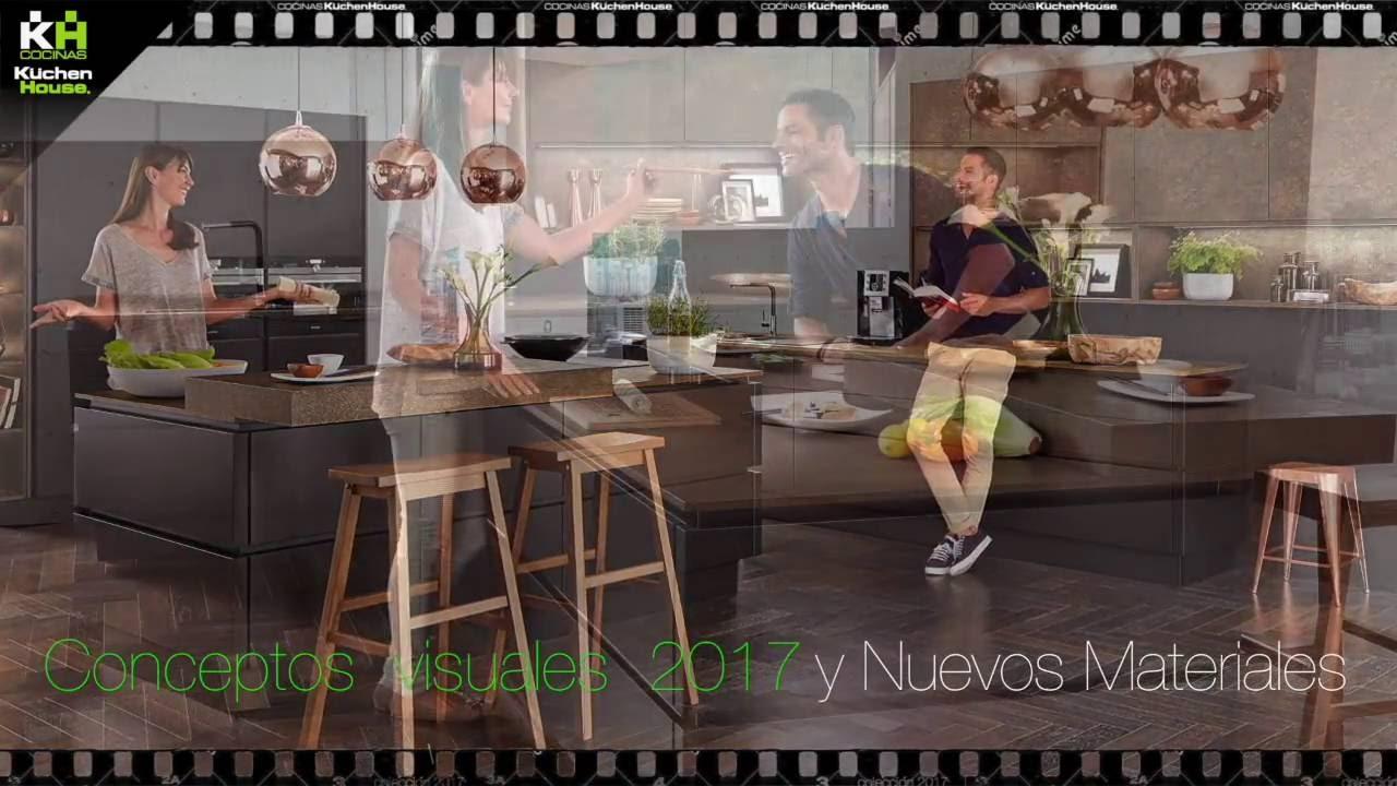 Cocinas alemanas kuchenhouse 2017 colecci n a youtube - Amueblamiento de cocinas ...