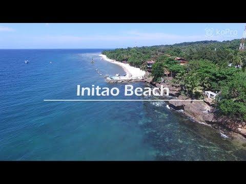 Initao Beach Aerial view #2