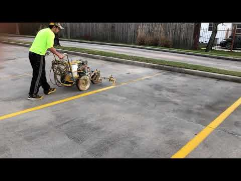 Parking Lot Striping Equipment Starting Your Own Business