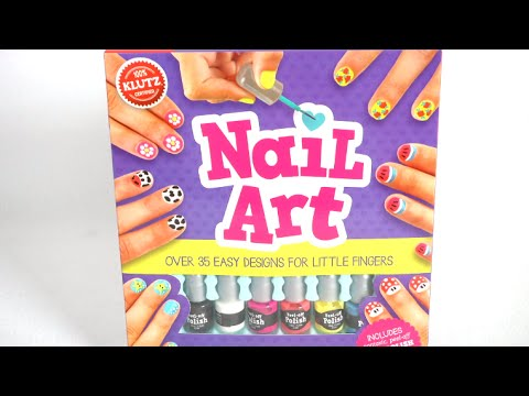 Nail Art Activity Book From Klutz