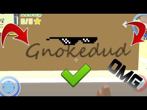 》Dude Theft Wars《 New Cheat Code Dudekong...!