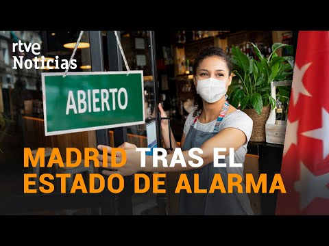 MADRID levantará el TOQUE DE QUEDA y ampliará el horario de la HOSTELERÍA | RTVE Noticias