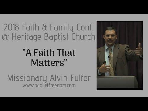 Faith & Family Conf. (AUDIO ONLY) A Faith that Matters